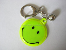 Hot sale promotion customized reflective keychain