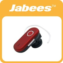 2014 newest wireless cell phone single ear bluetooth headset with mic and voice control key