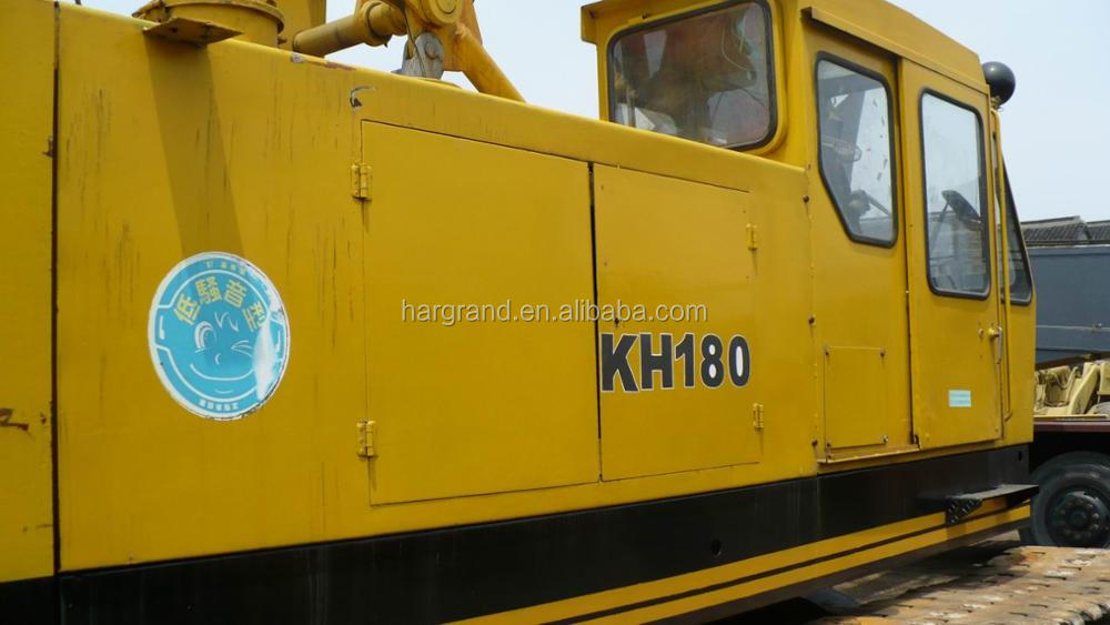 Used high quality original japan Hitachi kh180/50ton crawler crane shanghai for sale!
