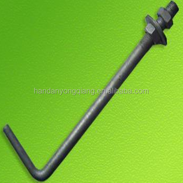 J type anchor bolt grade 4.8/6.8/8.8/12.9 made in China