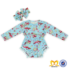 Long Sleeve Printing Style Baby Rompers Product Type organic cotton baby rompers wholesale baby clothes