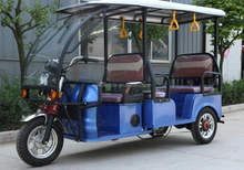 3 three wheel Passenger Use For and Rickshaw Driving Type 6 seater tuk tuk rickshaw for sale