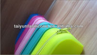 2014 best selling design fashion silicone funny pencil case