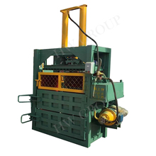 Professional Vertical Hydraulic Baler For Waste Paper/Hydraulic Wool Press/Pet Bottle Baling Press Machine