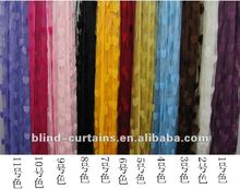 mixed color line curtain