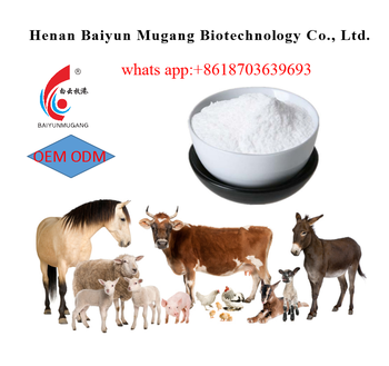 Hot sale factory direct price Ivermectin powder for animals Anti parasite