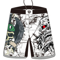 crossfit mma shorts with custom