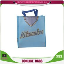 Most popular great capability laminated recyclable non woven shopping advertising bag