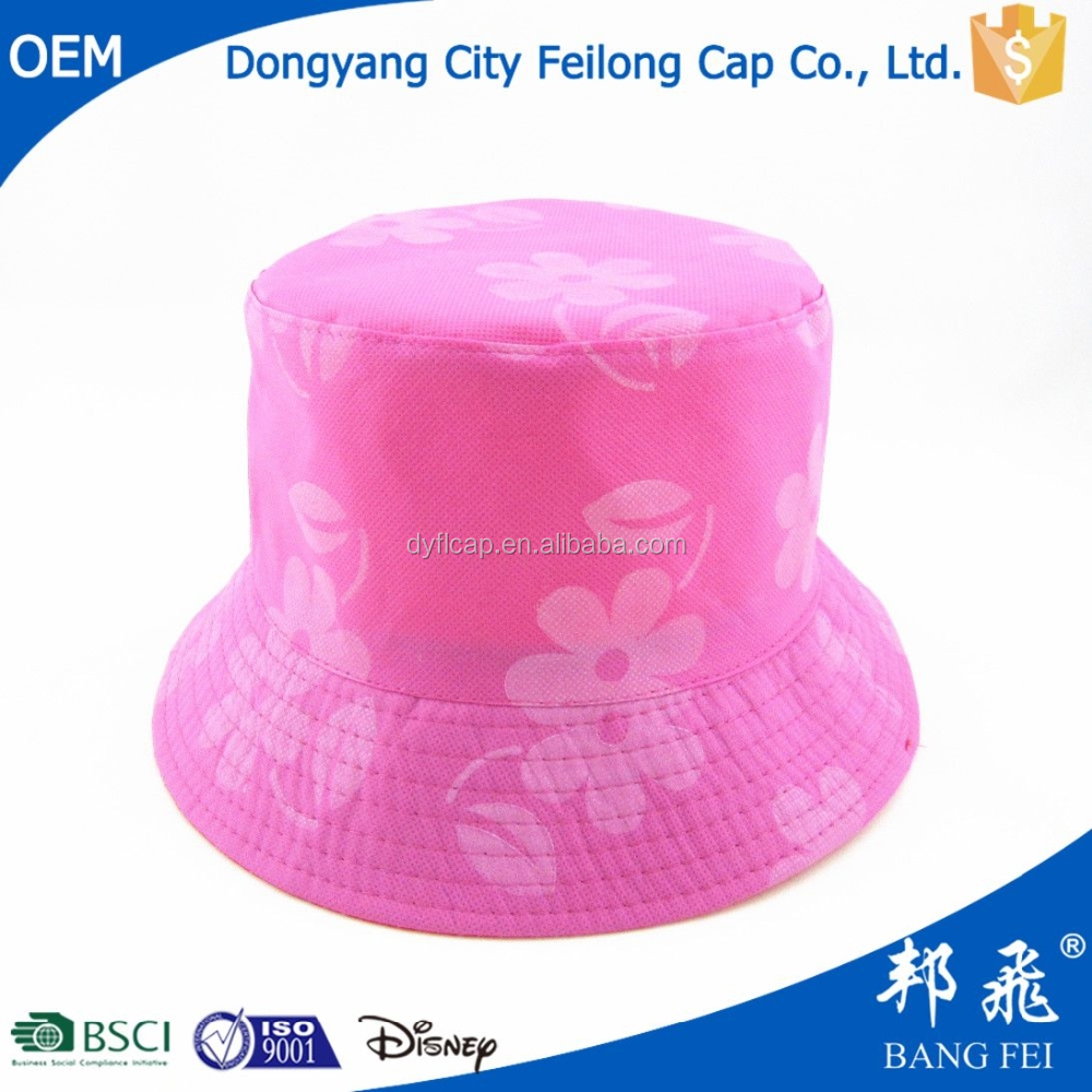 Custom Printed Bucket Hats Caps with Cheap Price