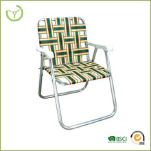 Wilson and Fisher patio furniture-Aluminium folding chair with PVC belt