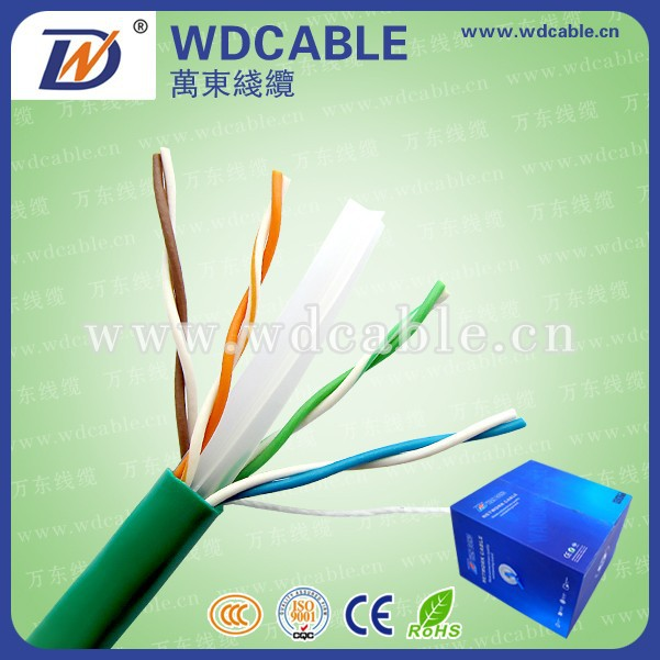 Best Price Cat6 Kabel 305m 23AWG Network Cable