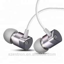 TIMMKOO Alibaba Branded Wired Earphone In Ear Earbuds Noise Isolating Music Earphones Metal Earphone With Microphone And Volume