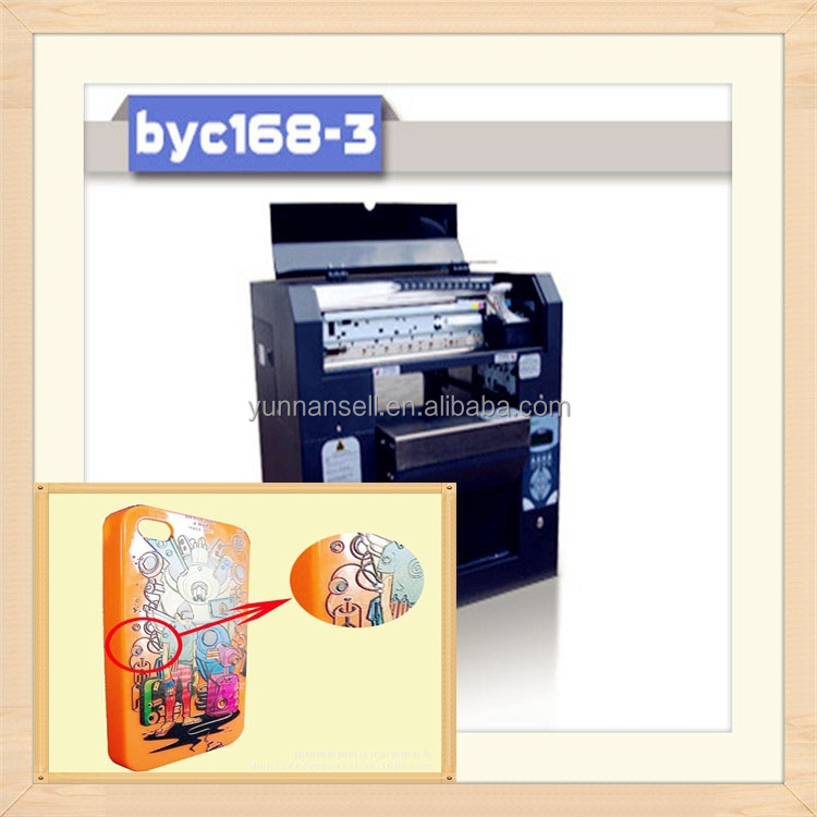 BYC digital phone case 3d printer/<strong>mobile</strong> phone sticker printer