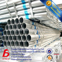 ASTM A53 Standard Round Section Steel GI Pipe Length