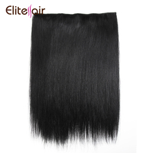 Elite Wholesale Cheap Price European Hair Quality Flip In Hair Extension Straight Clip In Halo Hair Extension Hot Sale On Line