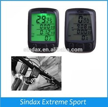 Waterproof Bicycle Computer Bike Cycle LCD Computer Speedometer Odometer Green LED Backlight