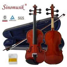 Wholesale cheap prices solid customized german violin