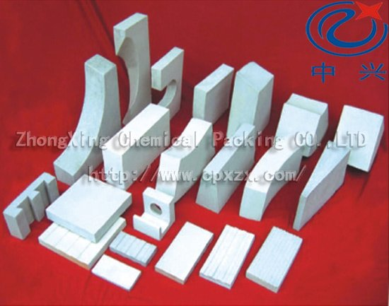 Acid & Heat Resistant Ceramic Brick, Plate, Tube