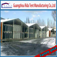 Heavy duty outdoor temporary storage canopy tent industrial warehouse tent