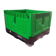 big foldable container plastic collapsible storage boxes
