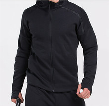 Drop shipping plus size 100% cotton sweat suits ; mans blank tracksuits