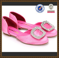 2013 new fashion shoes women brown flats latest design moccasin shoes