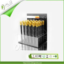 Blister pack soft tip 800 puffs disposable e-cigarette acrylic cigarette display stand