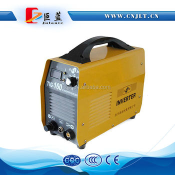 60% rated duty cycle portable TIG-160 inverter welding machine
