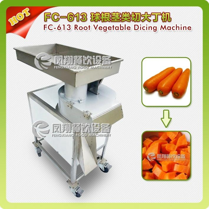 FC-613 Big cube cutter for carrot and potato , vegetable fruit dicer