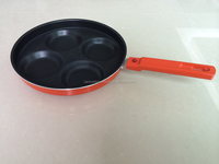 24cm aluminum non-stick coating four round cake pan