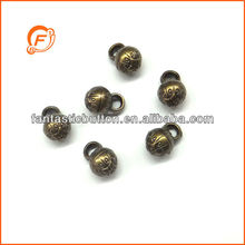 plastic anti brass small size ball shank button