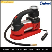 Portable car instant tire inflator with LED 12v air compressor car tyre inflator