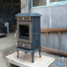 wood stove with back boiler(JA035B)