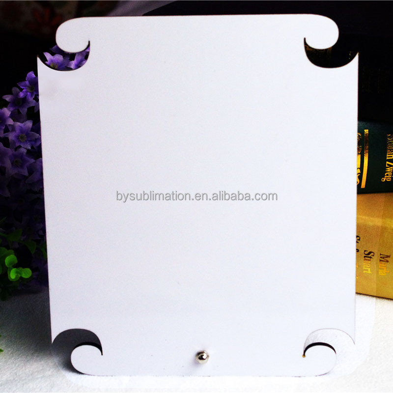 wood photo mdf frame sublimation(BY-BT-03)