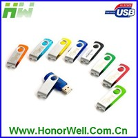 Top Sell Meatal Swival USB Flash Drive For Promotion Gift