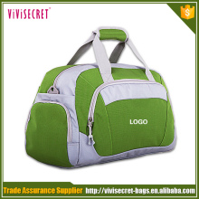 Large outdoor sports travel bag ladies gym bag with shoe compartment
