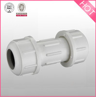 Compression Coupling plastic water pipe fitting in china supply IN SCH40