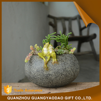 Petterns beauty sexy girl figurine garden decoration animal resin craft