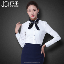 Juqian custom latest simple classic new fashion women outfit working uniforms ladies formal office uniform suits designs