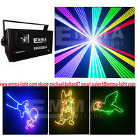 1500mw 1.5 watt RGB laser light show beam scanner stage lighting dj systems