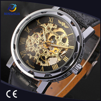 Good Price Business Gifts Winner Brand Skeleton Watch Winner