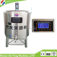 Cheap sale high capacity pasteurizer with temperature control box