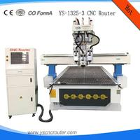 woodworking cnc router 1325/3d photo carving cnc router/woodworking engraver with rotary