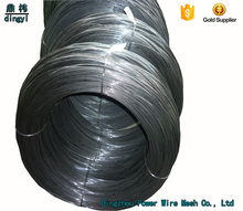 Building material 2017 hot sales alibaba Dingzhou(dingyi) black annealed wire with galvanized binding wire