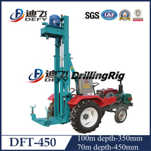 DFT-450 Tractor mounted underground used bore water well drilling machine in Japan