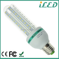 LED cfl replacement bulb 23w CE ROHS 1100lm 3 U shaped 2835 smd epistar chip e27 12w