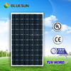 Bluesun excellent quality high performance 250 w pv solar panel