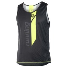 Professional custom high quality sublimation running jersey mens running singlets