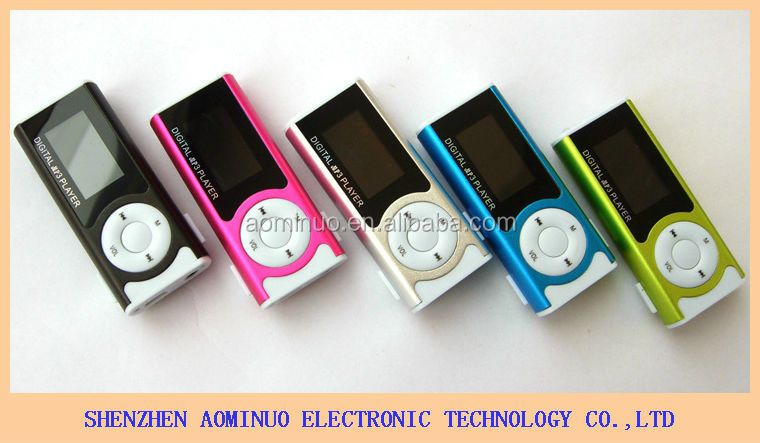 Mini mp3-muziekspeler met led licht 1,3 inch hindi mp3-speler mp3 songs