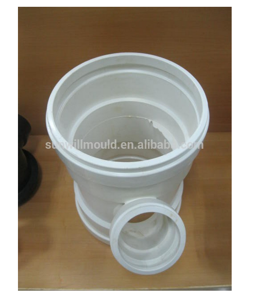 OEM Custom Made PVC Pipe Fitting Mould Plastic injection PVC lateral tee pipe fitting mould Moulds manufacturer